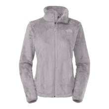 The North Face Osito 2 Fleece Jacket (For Women) in Metallic Silver - Closeouts
