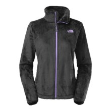 The North Face Osito 2 Fleece Jacket (For Women) in Tnf Black/Violet Tulip Purple - Closeouts