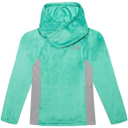 19b9dac890f The North Face Oso Fleece Hooded Pullover Shirt - Long Sleeve (For Big Girls )