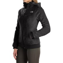 The North Face Oso Fleece Hoodie - Full Zip (For Women) in Tnf Black/Tnf Black - Closeouts