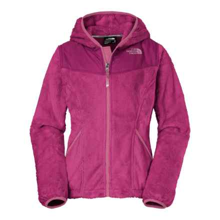 The North Face Oso Fleece Jacket - Full Zip (For Little and Big Girls) in Cabaret Pink - Closeouts