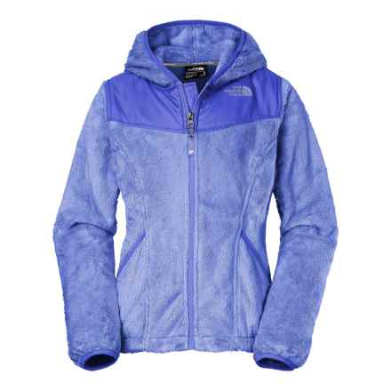 The North Face Oso Fleece Jacket - Full Zip (For Little and Big Girls) in Grapemist Blue - Closeouts