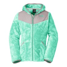The North Face Oso Fleece Jacket - Full Zip (For Little and Big Girls) in Surf Green - Closeouts