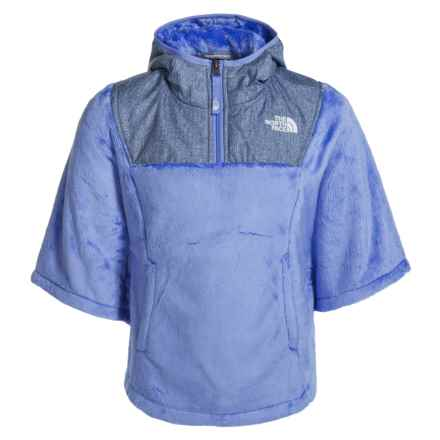 The North Face Oso Fleece Poncho (For Little and Big Girls) in Grapemist Blue - Closeouts