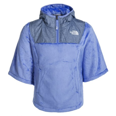 The North Face Oso Fleece Poncho (For Little and Big Girls) in Grapemist Blue