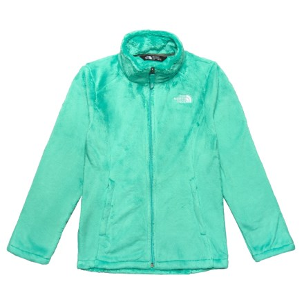 0c2bb2d52 The North Face Osolita Fleece Jacket (For Big Girls) in Bermuda Green -  Closeouts