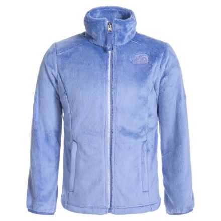 The North Face Osolita Fleece Jacket (For Little and Big Girls) in Grapemist Blue - Closeouts