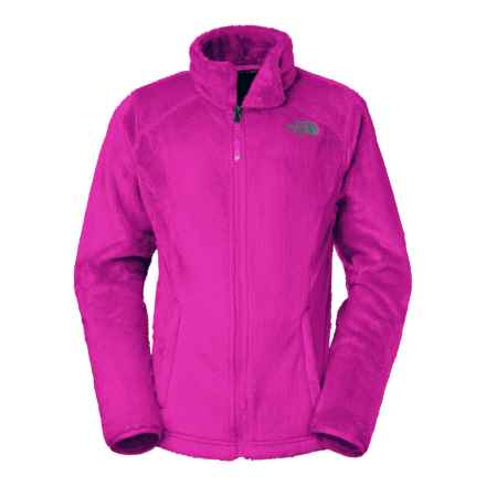 The North Face Osolita Fleece Jacket (For Little and Big Girls) in Luminous Pink - Closeouts