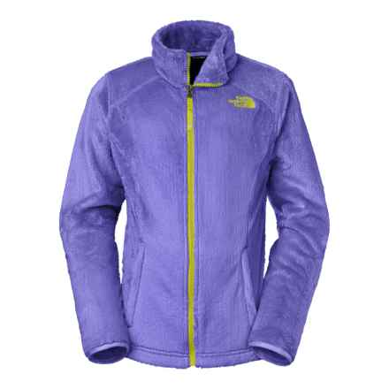 The North Face Osolita Fleece Jacket (For Little and Big Girls) in Starry Purple - Closeouts