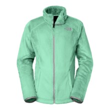 The North Face Osolita Fleece Jacket (For Little and Big Girls) in Surf Green - Closeouts