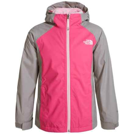 The North Face Osolita Triclimate® Jacket - Waterproof, 3-in-1 (For Little and Big Girls) in Cha Cha Pink - Closeouts