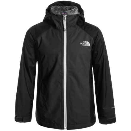 The North Face Osolita Triclimate® Jacket - Waterproof, 3-in-1 (For Little and Big Girls) in Graphite Grey - Closeouts