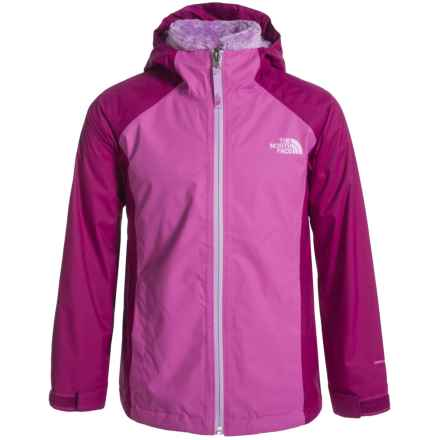 The North Face Osolita Triclimate® Jacket - Waterproof, 3-in-1 (For Little and Big Girls) in Wisteria Purple - Closeouts