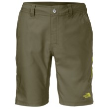 The North Face Pacific Creek Boardshorts - UPF 50 (For Men) in Burnt Olive Green - Closeouts
