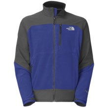 The North Face Pamir Windstopper® Jacket - Fleece (For Men) in Bolt Blue/Asphalt Grey - Closeouts