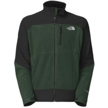 The North Face Pamir Windstopper® Jacket - Fleece (For Men) in Noah Green/Tnf Black - Closeouts