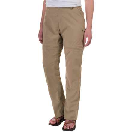 The North Face Paramount 2.0 Convertible Pants (For Women) in Dune Beige - Closeouts