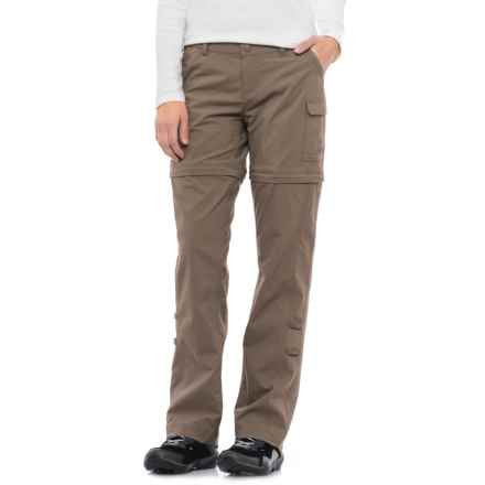 The North Face Paramount 2.0 Convertible Pants - UPF 50 (For Women) in Falcon Brown - Closeouts