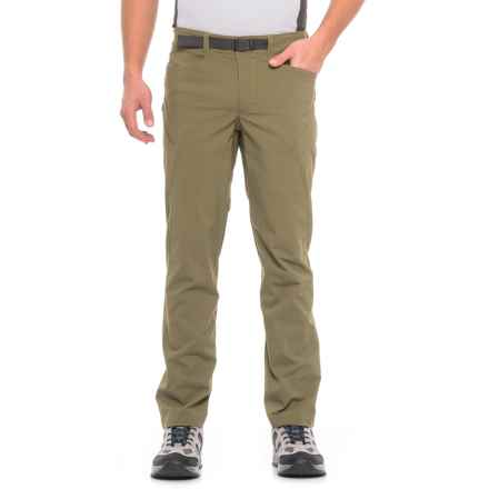 The North Face Paramount 3.0 Pants - UPF 50 (For Men) in Burnt Olive Green - Closeouts