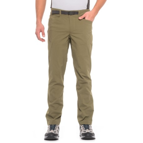 The North Face Paramount 3.0 Pants - UPF 50 (For Men) in Burnt Olive Green