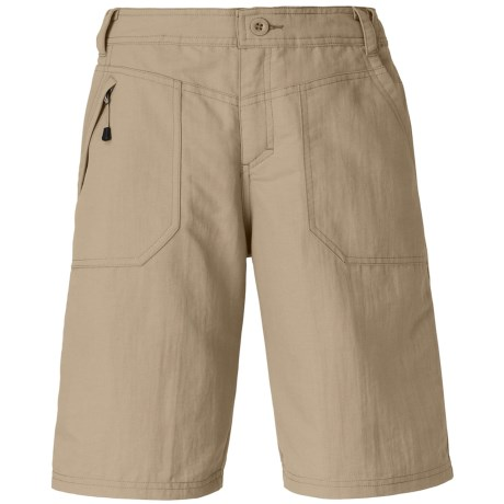 The North Face Paramount Raven Shorts - UPF 30 (For Women) in Dune Beige
