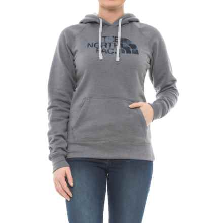 The North Face Patterned Half Dome Hoodie (For Women) in Tnf Medium Grey Heather - Closeouts