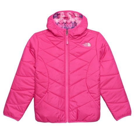 5d967723055 ... greece the north face perrito hooded jacket reversible insulated for  big girls in 56a84 ce5c4
