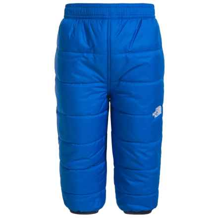 The North Face Perrito Reversible Snow Pants - Insulated (For Infants) in Jake Blue - Closeouts