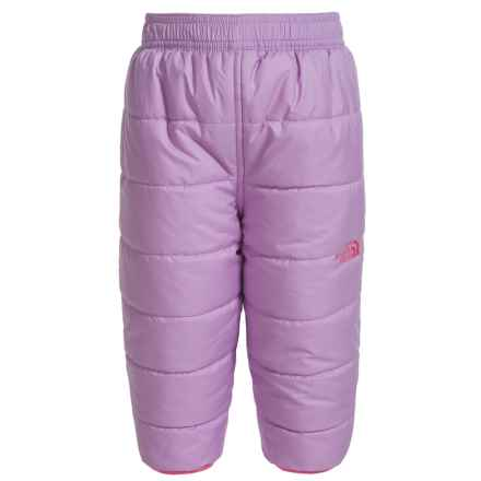 The North Face Perrito Reversible Snow Pants - Insulated (For Infants) in Lupine - Closeouts