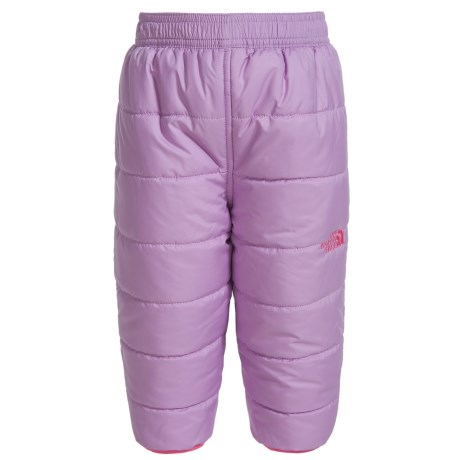 The North Face Perrito Reversible Snow Pants - Insulated (For Infants) in Lupine