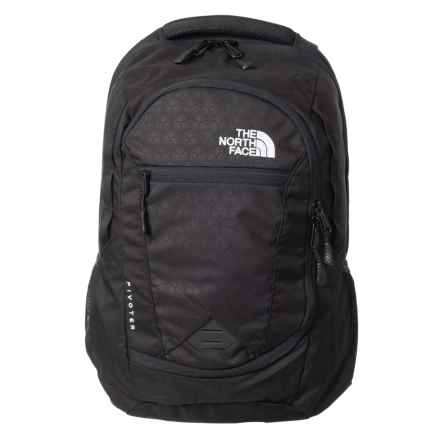 The North Face Pivoter 27L Backpack (For Men) in Tnf Black - Closeouts
