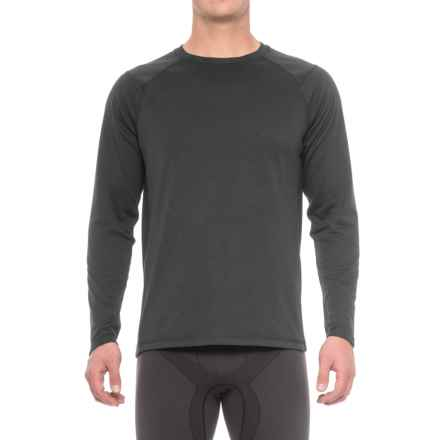 The North Face Plaited Crag Shirt - Crew Neck, Long Sleeve (For Men) in Tnf Black - Closeouts