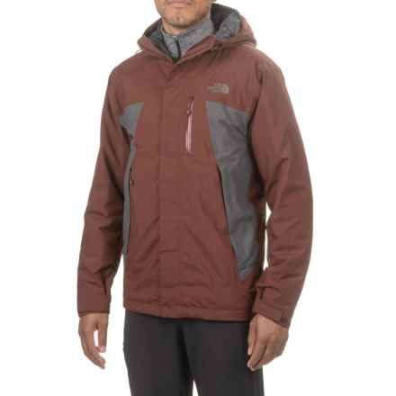 The North Face Plasma ThermoBall® Jacket - Waterproof, Insulated (For Men) in Sequoia Red/Asphalt Grey - Closeouts