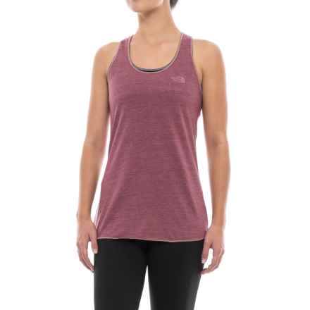 The North Face Play Hard Tank Top - Racerback (For Women) in Renaissnce Rose Heather - Closeouts