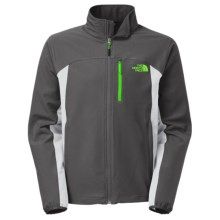 The North Face Pneumatic Soft Shell Jacket (For Men) in Asphalt Grey/High Rise Grey - Closeouts