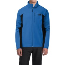 The North Face Pneumatic Soft Shell Jacket (For Men) in Monster Blue/Tnf Black - Closeouts