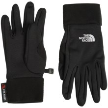 The North Face Polartec® Power Stretch® Gloves (For Women) in Tnf Black - Closeouts