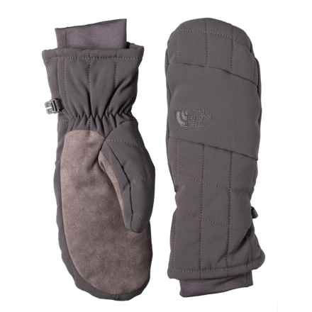 The North Face Pseudio Mittens - Insulated (For Women) in Graphite Grey - Closeouts