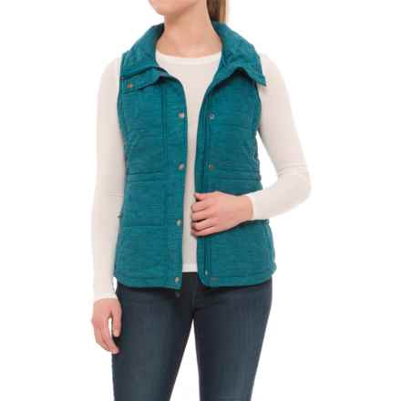 The North Face Pseudio Vest - Insulated (For Women) in Egyptian Blue Heather - Closeouts