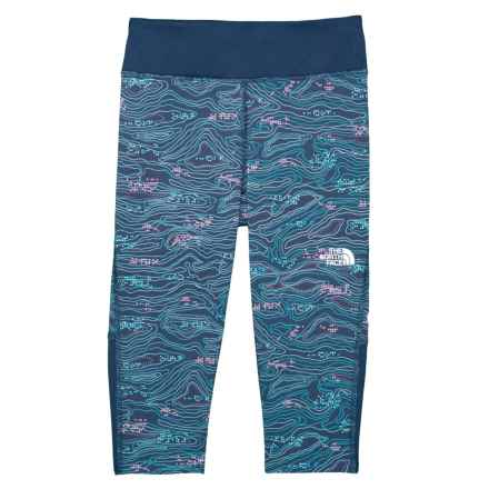 baaf59a8019dd The North Face Pulse Capris (For Little and Big Girls) in Blue Wing Teal
