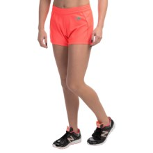 The North Face Pulse Shorts (For Women) in Fiery Coral - Closeouts