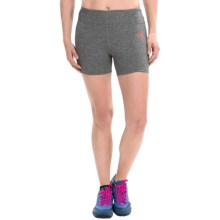 The North Face Pulse Shorts (For Women) in Zinc Grey Heather - Closeouts