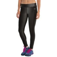 The North Face Pulse Tights (For Women) in Asphalt Grey Print - Closeouts
