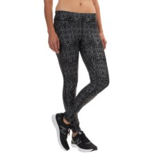 The North Face Pulse Tights (For Women) in Tnf Black Print - Closeouts