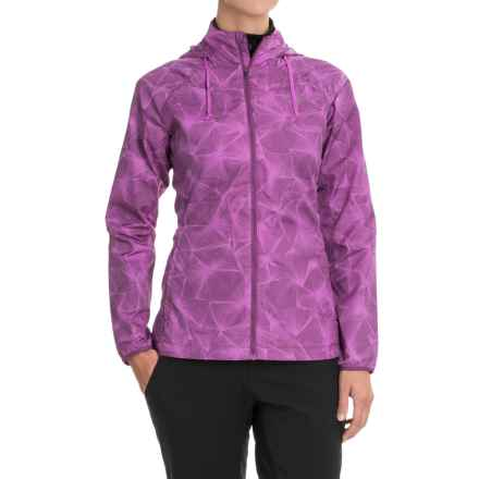 The North Face Rapida Jacket (For Women) in Sweet Violet Print/Wood Violet - Closeouts