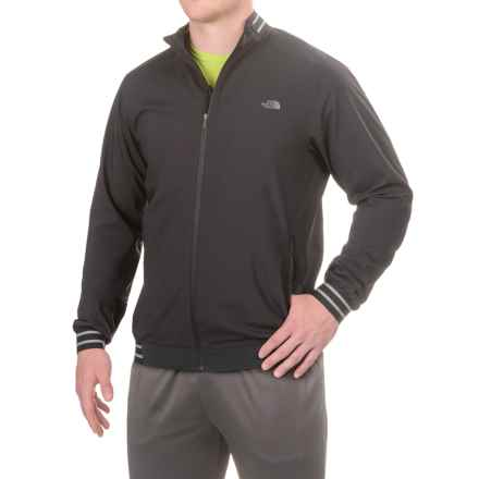 The North Face Rapido Jacket - Full Zip (For Men) in Tnf Black - Closeouts