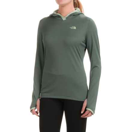 The North Face Reactor Hoodie (For Women) in Balsam Green/Subtle Green - Closeouts
