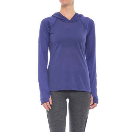 The North Face Reactor Hoodie (For Women) in Bright Navy - Closeouts
