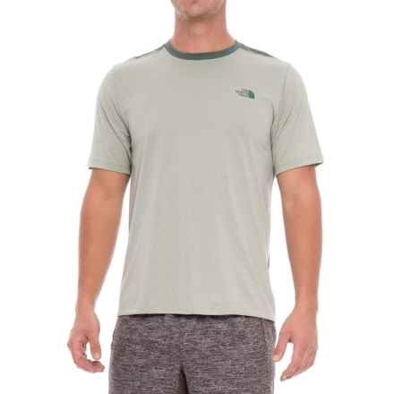 The North Face Reactor T-Shirt - Short Sleeve (For Men) in Wrought Iron Heather - Closeouts