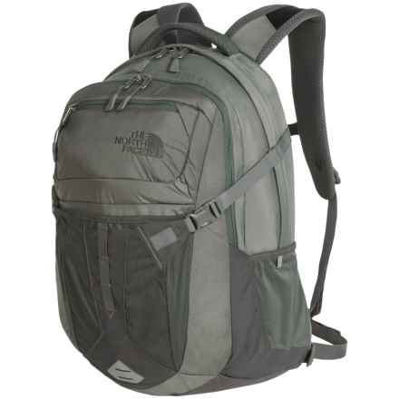 The North Face Recon 31L Backpack in Moonmist Grey/Duck Green - Closeouts